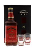 Image de Jack Daniel's Fire + 2 verres 35° 0.7L