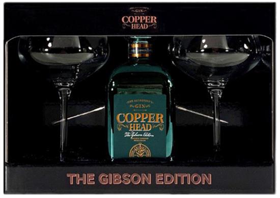 Image sur Copper Head The Gibson Edition Martini Box 40° 0.5L