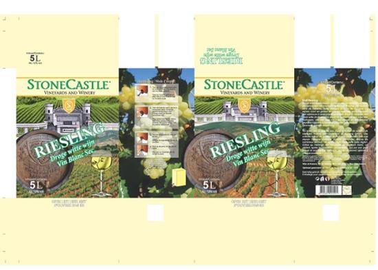 Afbeelding van Riesling Stonecastle Bag in Box 12° 5L