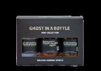 Afbeeldingen van Ghost in a Bottle gift pack mini Gin & Rum 41° 0.3L