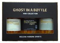 Afbeeldingen van Ghost in a Bottle gift pack mini Rum 40° 0.3L