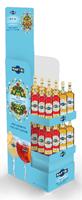 Afbeeldingen van Display Martini Non Alcoholic 75 cl + Bon 1,5 € (24 Floreale + 24 Vibrante)  36L