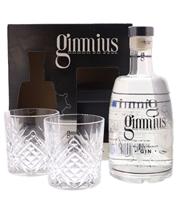 Image de Gimmius Gin Pack + 2 Verres 41° 0.7L
