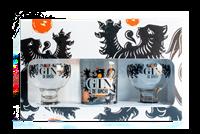 Image de Gin de Binche +  2 Verres 40° 0.7L