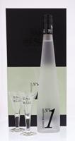 Image de Poire Williams N°1 Distillerie de Biercée Ecrin Prestige + 2 Verres 43° 0.7L