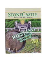 Afbeeldingen van Riesling Stonecastle Bag in Box 12° 3L