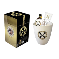 Image de X-Gin Gift Pack XL 44° 0.35L