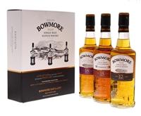 Image de Bowmore 3 x 20 cl (12/15/18 Years) 42° 0.6L