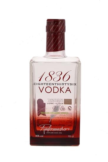 Afbeelding van 1836 Belgian Organic Vodka + Bon 2 € 40° 0.7L