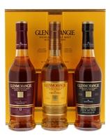 Image de Glenmorangie Explorer Pack 3 x 35 cl 43° 1.05L