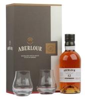 Afbeeldingen van Aberlour 12 Years Non Chill-Filtered + 2 glazen 48° 0.7L