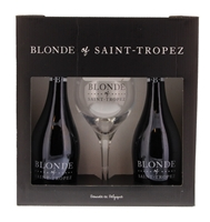Image de Blonde of Saint-Tropez (2 Btl + 1 Verre) 5.6° 0.66L
