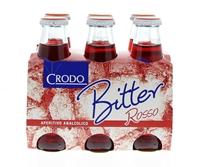 Image de Crodo Bitter Rosso 6 x 10 cl sans alcool  0.6L