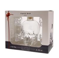 Image de Crystal Head + 4 shot glasses 40° 0.7L