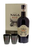 Image de Naga Rum + 2 verres 40° 0.7L