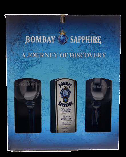 Image sur Bombay Sapphire RTM Kit (3 Bottles + Kit) 40° 3L
