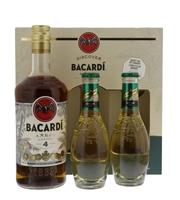 Image de Bacardi 4 Anos + 2 Schweppes Ginger Ale 40° 0.7L