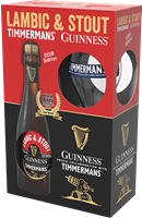 Image de Lambic & Stout Guinness - Timmermans Edition 2019 Giftpack
