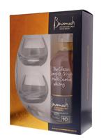 Image de Benromach 10 Years + 2 verres 43° 0.7L
