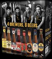 Afbeeldingen van Giftpack Beer Collection John Martin BE 8 x 33 cl