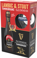 Afbeeldingen van Lambic & Stout Guinness - Timmermans Edition 2019 Giftpack