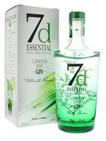 Afbeeldingen van 7d Essential London Dry Gin 41° 0.7L