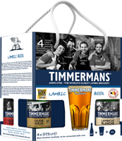 Afbeeldingen van Giftpack Timmermans 4 x 37.5 cl