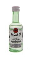 Image de Bacardi Carta Blanca 10 x 5 cl PET 40° 0.5L