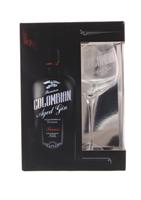 Afbeeldingen van Colombian Aged Gin Treasure + Glas 43° 0.7L