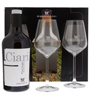 Afbeeldingen van Ciari Pinot Grigio + 2 Glazen 12.5° 0.75L