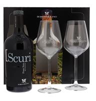 Afbeeldingen van Scuri Pinot Nero + 2 Glazen 12.5° 0.75L