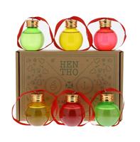 Afbeeldingen van Hentho Kerstballen 6 x 5 cl 44° 0.3L