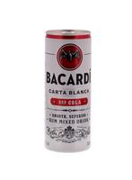 Afbeeldingen van Bacardi & Cola cans 24 x 25 cl 5° 6L