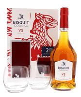 Image de Bisquit VS + 2 Verres 40° 0.7L