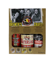 Afbeeldingen van The best out of 3 craft breweries John Martin Belgium 3 x 33 cl