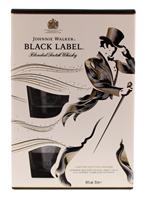 Afbeeldingen van Johnnie Walker Black Label + 2 Glazen 40° 0.7L