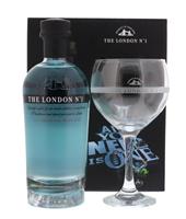 Afbeeldingen van London N°1 Gin + Glas 47° 0.7L