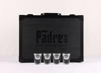 Afbeeldingen van Padre Azul koffer met 4 glazen