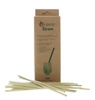 Image de Pailles végétales en Lepironia Organicstraw Long 20 cm (100 Pack)