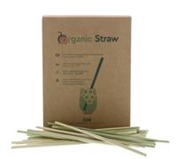 Image de Pailles végétales en Lepironia Organicstraw Long 20 cm (500 Pack)