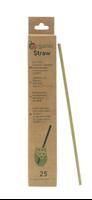 Image de Pailles végétales en Lepironia Organicstraw Long 20 cm (25 Pack)
