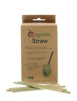 Image de Pailles végétales en Lepironia Organicstraw Small 12 cm (100 Pack)