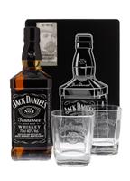 Image de Jack Daniel's Old N°7 + 2 verres en Tin Box 40° 0.7L