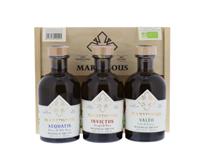 Afbeeldingen van Maredsous Gin Bio Giftbox 3 X 20 cl 40° 0.6L