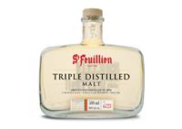 Afbeeldingen van St-Feuillien Triple Distilled Malt 46° 0.5L