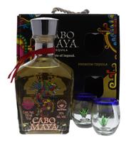 Afbeeldingen van Tequila Cabo Maya Reposado + Coffret 38° 0.7L