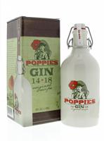 Afbeeldingen van Poppies Gin + Kruik 40° 0.5L