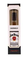 Afbeeldingen van Jim Beam + 2 Glasses 40° 0.7L