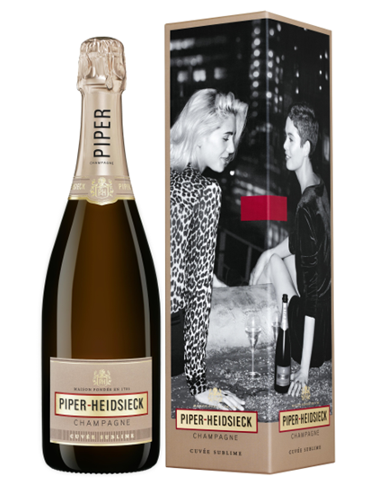 Afbeelding van Piper-Heidsieck Cuvée Sublime + GBX 12° 0.75L