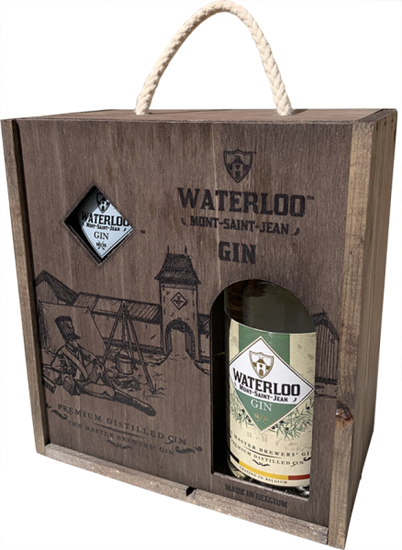Afbeelding van Waterloo Gin + 1 Glas 42° 0.5L
